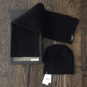 Ugg brand hat and scarf